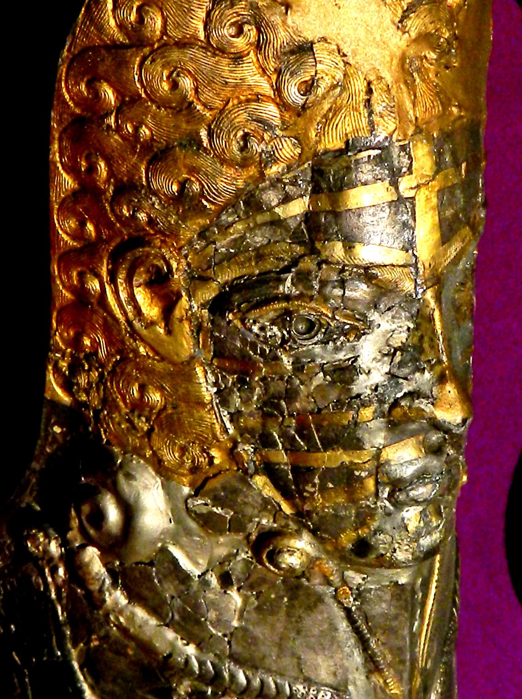 Geto-Daker Nord Donau 400 V Chr Aghigiol Gold Silber