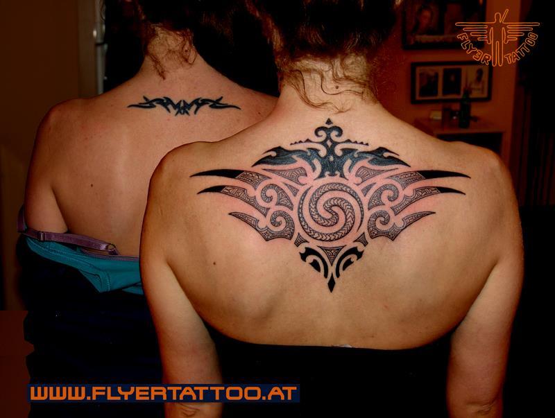Coverup Tattoo Maori
