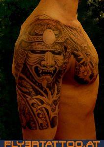 Kabuto Drache Tattoo