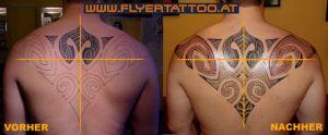 Tattoo Coverup Maori