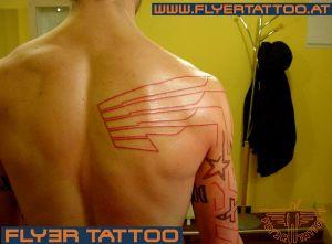 Flügel-tattoo
