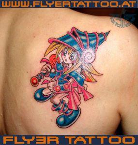 Hexe-tattoo