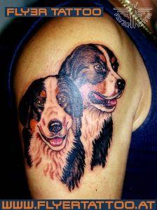 Hunde-tattoo