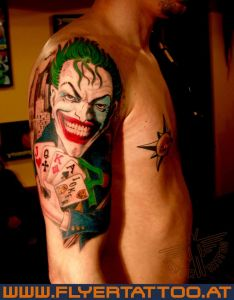 Joker-tattoo-newschool