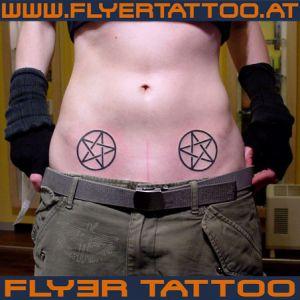Pentagrame-tattoo