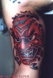 Tattoo Maske