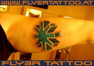 Tattoo Zahnrad