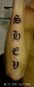 Alt Deutsch Tattoo 1