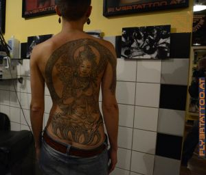 Tattoo Tara indische tattoo