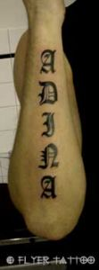 Alt Deutsch Tattoo