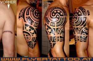 Tattoo Neotribal Cover up