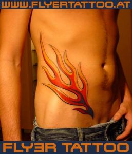 Oldschool-tattoo-flame