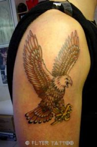 Tattoo-adler