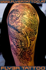 Tattoo-tiger+drache