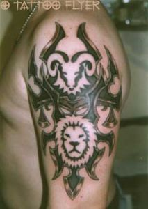Tattoo-tribal-klinge